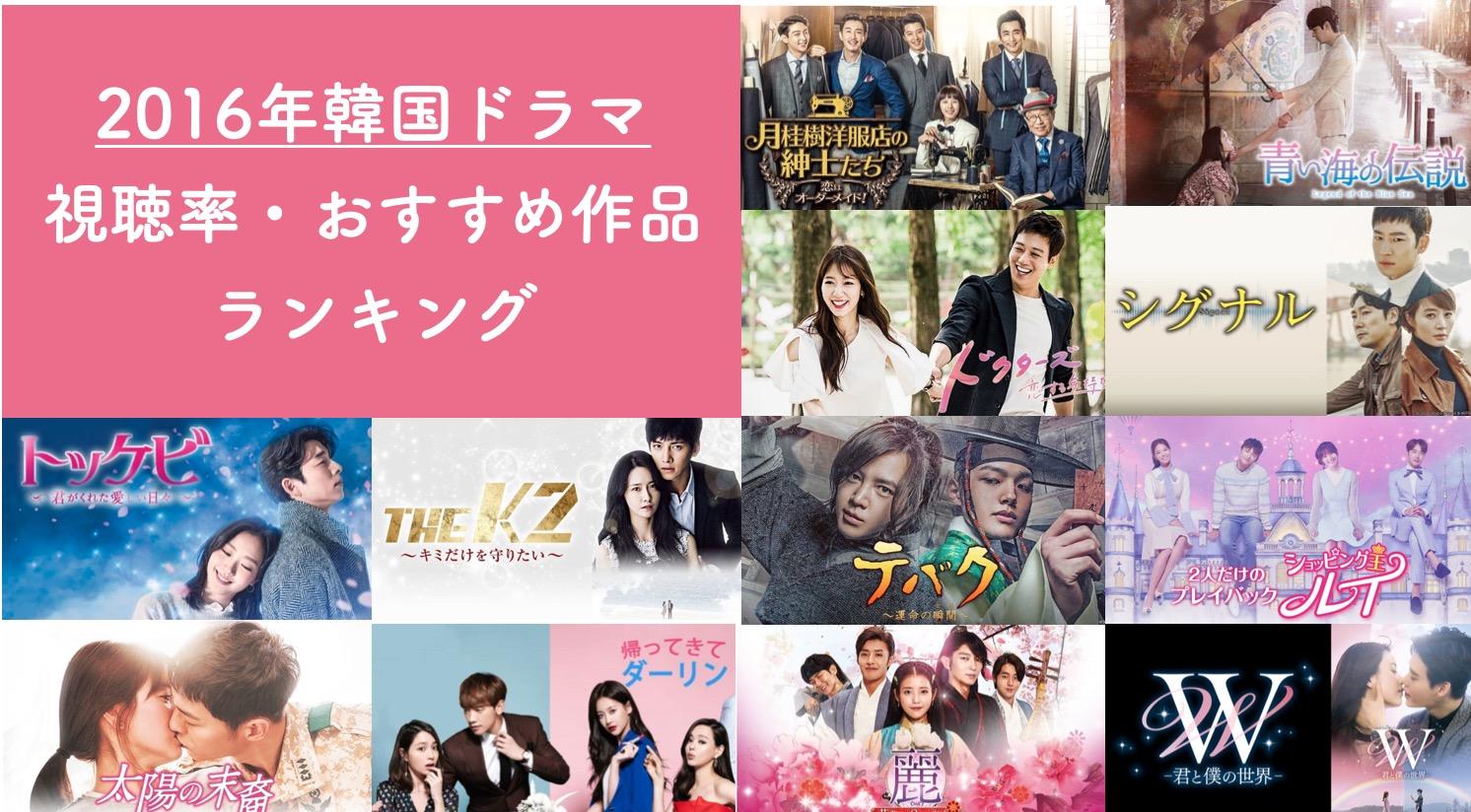 率 2020 視聴 ランキング ドラマ 韓国